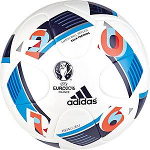 adidas Euro 2016 Sala Training Fußball weiß / blau / rot