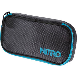 Nitro Snowboards Pencil Case Blur blue Federmäppchen schwarz