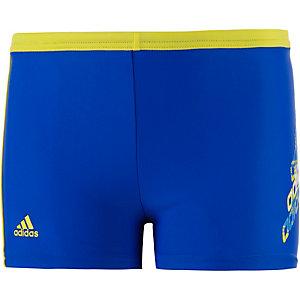 adidas Kastenbadehose Jungen blau/gelb