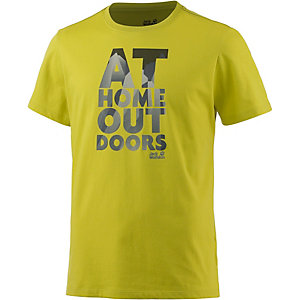 Jack Wolfskin Slogan Printshirt Herren lime