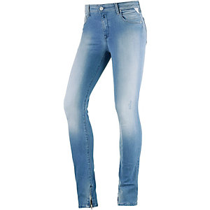 REPLAY Cherilyn Skinny Fit Jeans Damen light blue washed denim