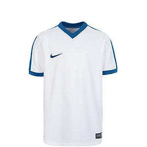 Nike Striker IV Fußballtrikot Kinder weiß / blau