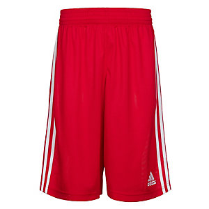 adidas Commander Basketball-Shorts Herren rot / weiß