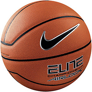 Nike Elite Championship Basketball orange / schwarz