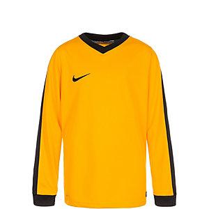 Nike Striker IV Fußballtrikot Kinder gold / schwarz