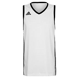 adidas Commander Basketball Trikot Herren weiß / schwarz