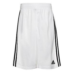 adidas Commander Basketball-Shorts Herren weiß / schwarz