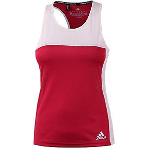 adidas T16 CC Funktionstank Damen rot/weiß