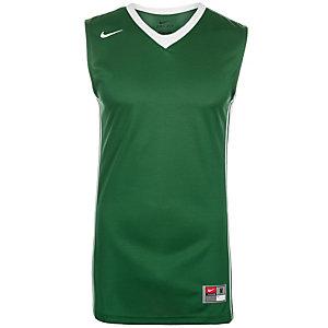 Nike National Varsity Stock Basketball Trikot Herren grün / weiß