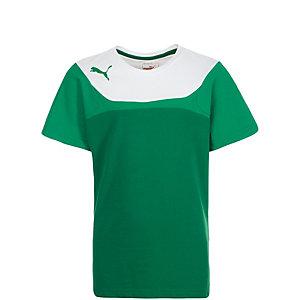 PUMA Esito 3 Leisure Fanshirt Kinder grün / weiß