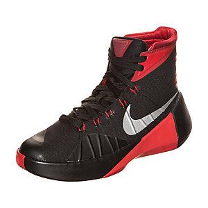 Nike Hyperdunk 2015 Basketballschuhe Jungen schwarz / rot