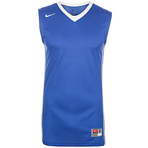 Nike National Varsity Stock Basketball Trikot Herren blau / weiß