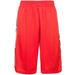 Nike Elite Stripe Basketball-Shorts Herren orange / weiß
