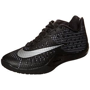 Nike HyperLive Basketballschuhe Herren schwarz / silber
