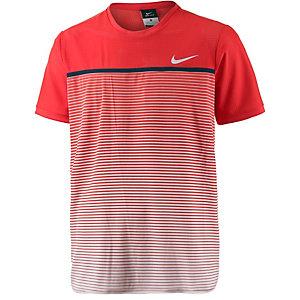 Nike Challenger Premier Crew Funktionsshirt Herren rot/weiß