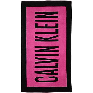 Calvin Klein Handtuch pink/schwarz