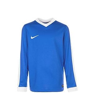 Nike Striker IV Fußballtrikot Kinder blau / weiß