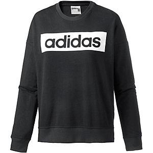 adidas Sweatshirt Damen schwarz/weiß