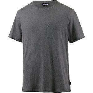 Patagonia Daily Tri-Blend T-Shirt Herren grau