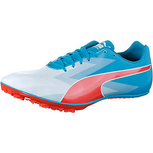 PUMA Evospeed Sprint V6 Laufschuhe Herren blau/orange