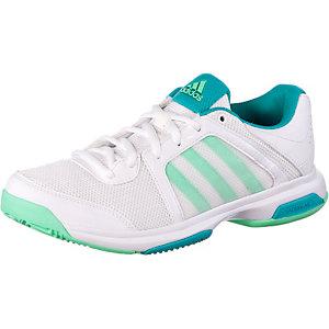 adidas Barricade Aspire St Tennisschuhe Damen weiß/grün