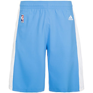 adidas Denver Nuggets Swingman Basketball-Shorts Herren blau / weiß
