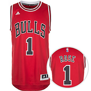 adidas Chicago Bulls Rose Swingman Basketball Trikot Herren rot / weiß