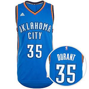 adidas Oklahoma City Thunder Durant Swingman Basketball Trikot Herren blau / weiß