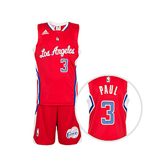 adidas Los Angeles Clippers Basketball Trikot Kinder rot / weiß