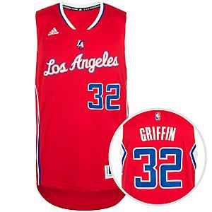adidas LA Clippers Griffin Swingman Basketball Trikot Herren rot / weiß / blau