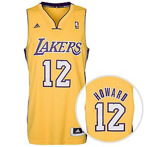adidas LA Lakers Howard Basketball Trikot Herren gelb / lila