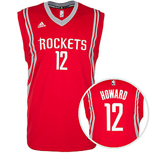 adidas Houston Rockets Howard Replica Basketball Trikot Herren rot / grau / weiß