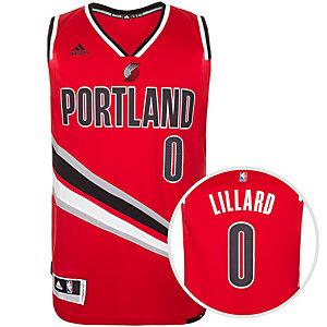 adidas Portland Trail Blazers Swingman Basketball Trikot Herren rot / schwarz / weiß