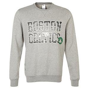 adidas Boston Celtics GFX Fleece Crew Sweatshirt Herren grau