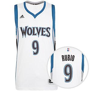 adidas Minnesota Timberwolves Rubio Swingman Basketball Trikot Herren weiß / blau