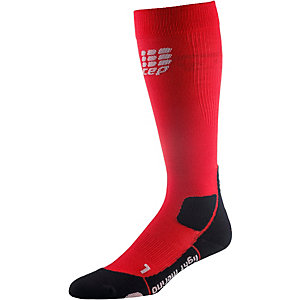 CEP Outdoor Light Merino Socks Wandersocken Damen rot