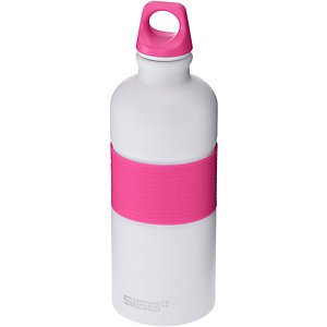 SIGG CYD Pure White Touch Pink Trinkflasche rosa/weiß