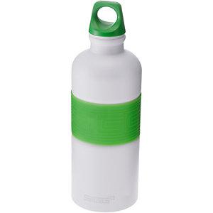 SIGG CYD Pure White Touch Green Trinkflasche grün/weiß
