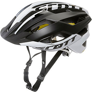 SCOTT ARX Plus Fahrradhelm schwarz matt