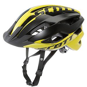 SCOTT ARX Fahrradhelm gelb schwarz