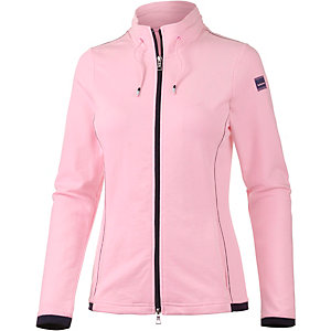 Joy Pepita Sweatjacke Damen rosa