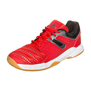 adidas Court Stabil Handballschuhe Kinder rot / schwarz / weiß