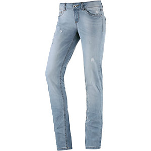 TOM TAILOR Skinny Fit Jeans Damen light denim