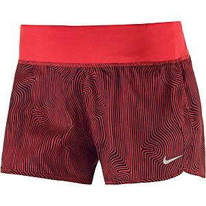 Nike Zen Rival Laufshorts Damen rot/schwarz