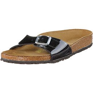 birkenstock madrid sandalen damen schwarz im online shop. Black Bedroom Furniture Sets. Home Design Ideas
