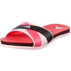 adidas Supercloud Plus Slide Sandalen Damen rosa