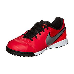 Nike Tiempo Legend VI Fußballschuhe Kinder rot / silber