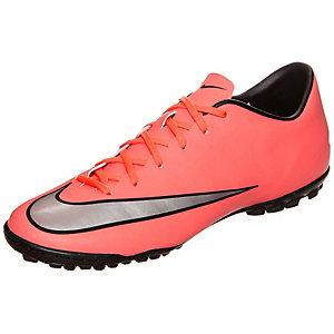 Nike Mercurial Victory V Fußballschuhe Herren neonrot / silber