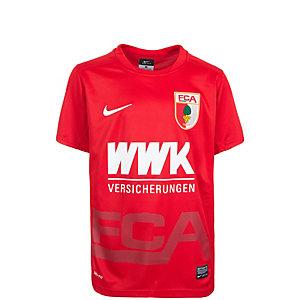 Nike FC Augsburg 15/16 Auswärts Fußballtrikot Kinder rot