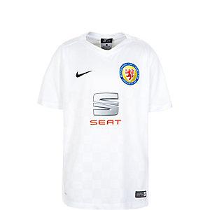 Nike Eintracht Braunschweig 15/16 3rd Fußballtrikot Kinder weiß